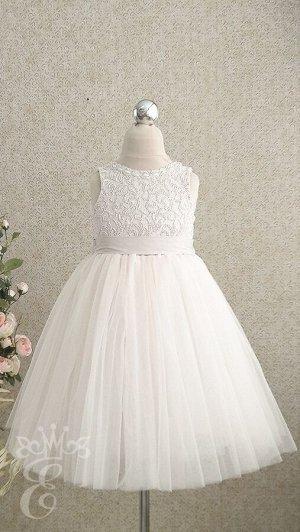 Платье нарядное 589-ПГМ