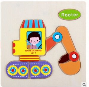 Деревянная игрушка мозайка