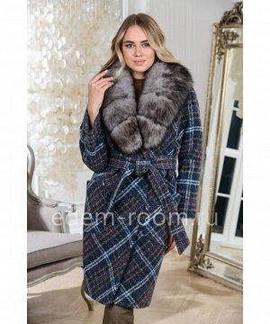 Модное пальто в клеткуАртикул: AR-120-100-KKLM-P