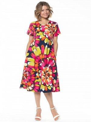 N129-1 Платье на 60 размер.