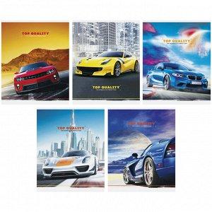 "Тетрадь 48л., А5, клетка ArtSpace ""Авто. Best cars"", эконом"