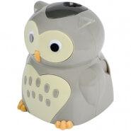 """Точилка электрическая детская Berlingo """"Owl"""", 1 отверстие, с контейнером, картон. уп."""