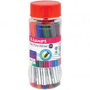 """Набор капиллярных ручек Luxor """"Mini Fine Writer 045"""" 20цв., 0,8мм, пластиковая банка"""