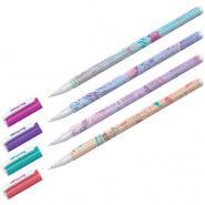 """Ручка шариковая Berlingo """"Funline. Capitals"""", синяя, 0,7мм, рисунок на корпусе, ассорти"""