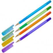 "Ручка шариковая MunHwa ""MC Gold LE"" синяя, 0,5мм, грип, штрих-код, корпус ассорти"