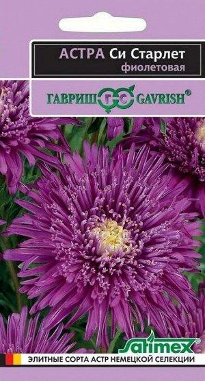 Астра Си Старлет фиолетовая, однолетняя* 0,1 г серия Эксклюзив