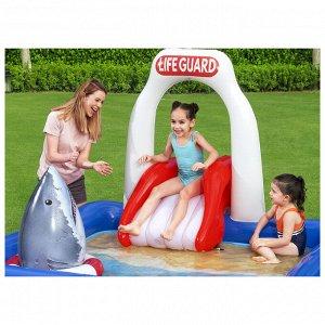 Игровой центр Lifeguard Tower, 234 x 203 x 129 см, 53079 Bestway