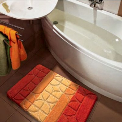 S*INTEX - яркие коврики для Вашего дома! Новинки! — Коврики PP MIX4К ворс 1,3 см — Ванная