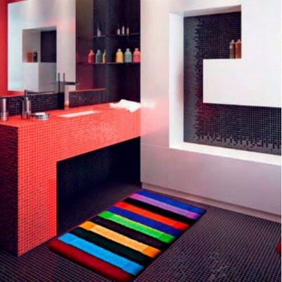 S*INTEX - яркие коврики для Вашего дома! Новинки! — Коврики PP MIX LUX ворс 1,5 см — Ванная