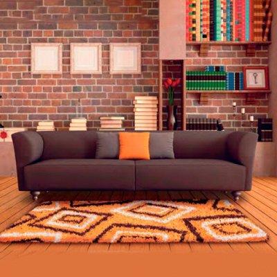 S*INTEX - яркие коврики для Вашего дома! Новинки! — Коврики SUPER SHAGGY (полипропилен) крученый ворс 3 см — Для дома
