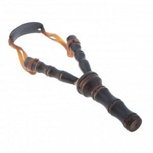 Рогатка фигурная, из бамбука