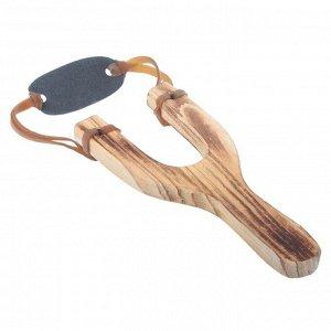Рогатка деревянная, с обмоткой