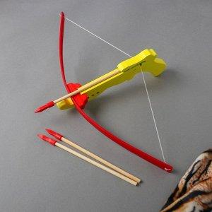 Игрушка деревянная «Арбалет»27*49*12 см, МИКС