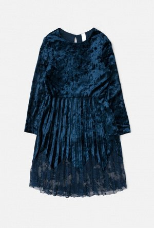 Платье детское для девочек Glace темно-синий