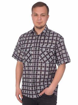 "Мужская рубашка мужская бязевая - короткий рукав ""Классик"""