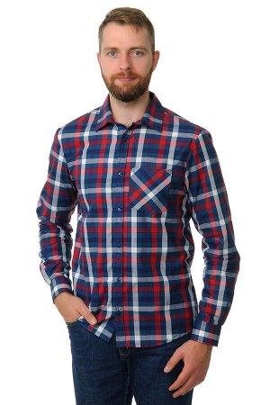 Рубашка мужская «Premium» длинный рукав