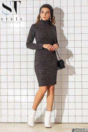 Комплект двойка 53921 (платье+повязка-хомут)