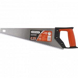 Ножовка по дереву (пила) MIRAX Universal 400 мм