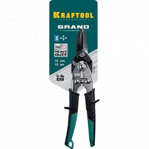 KRAFTOOL GRAND Прямые ножницы по металлу