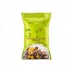 """Завтрак готовый гранола """"Шоколадно-дынная формула"""" Granola.Lab"""