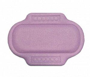 """Подушка для ванны с присосками """"Спа"""" 25х37 см (фиолетовый)"""