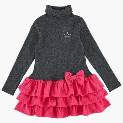 MINI MAXI: Отшили наряды на лето  — Для девочек/Платья трикотажные длинный рукав — Для девочек
