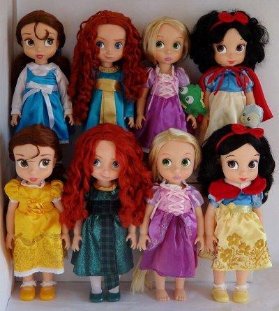 Самые ХИТовые оригинальные игрушки.  — Большие принцессы Аниматорс — Принцессы