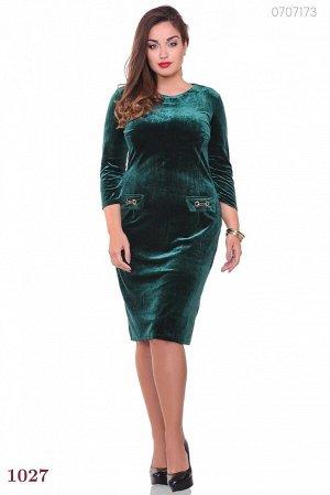 Платье Паленсия (изумрудный)