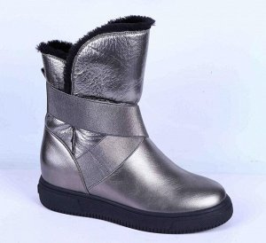 18006-01-10 П/сапоги женские, серый