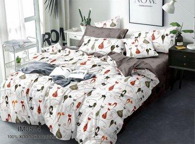 ЭкоЛан - постельное белье, подушки, одеяла и др. НОВИНКИ!! — КПБ поплин экстра — Двуспальные и евро комплекты