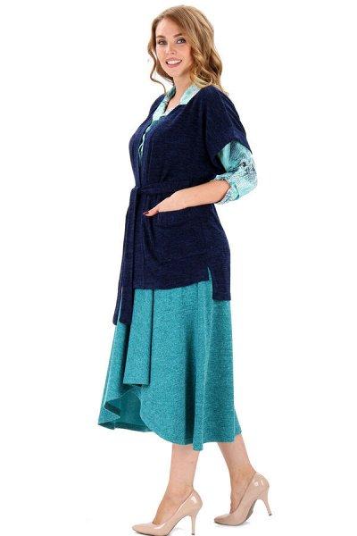 Яркая домашняя одежда от Синель 17 (до 68 размера) — Джемперы, кардиганы, пончо — Кардиганы