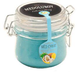 Крем-мед 250 мл (бугель)  Голубая лагуна (кокос и ананс)