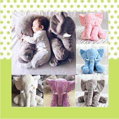 Беби шоп. Товары для детей с рождения — Слон-сплюшка-любимая игрушка малышей. Подушки-смайлики — Мягкие игрушки