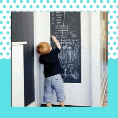 Беби шоп. Товары для детей с рождения — Виниловая наклейка для рисования — Интерьерные наклейки