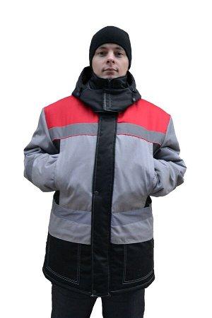 Куртка Ткань (материал)Смесовая Состав80% полиэстер, 20% хлопок ПодкладкаТаффета УтеплительСинтепон 3х120 г/м2. Куртка мужская для защиты от пониженных температур. Ткань верха смесовая пл.200-210. Кур