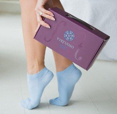 Твой гардероб с быстрой доставкой! Поступление школы! — Женские носки  VIRTUOSO супер качество! — Носки