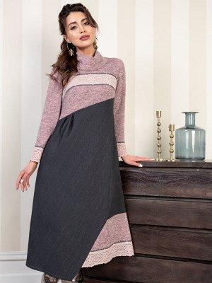 Платье Модный выход (пинк)