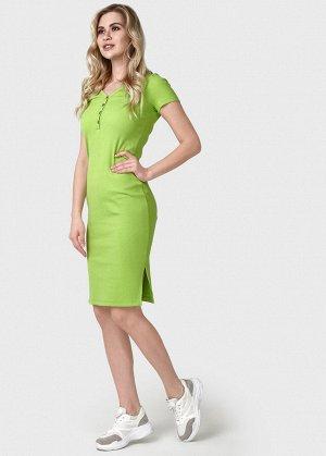 """Платье """"Алиса"""" для беременных и кормящих; цвет: лайм"""