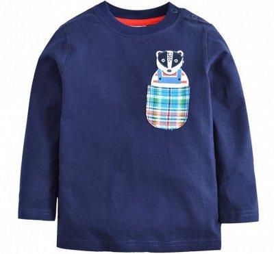 Детская одежда, обувь, аксессуары! Скидка 50% — Футболки длин.рукав/мальчики — Водолазки, лонгсливы
