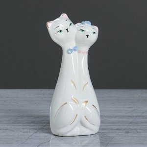 "Сувенир ""Коты-молодожены"" 15 см, микс"