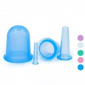 Комплект силиконовых банкок для вакуумного массажа