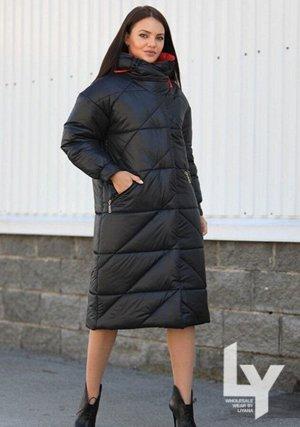 Пальто Размерная линейка: 44,46,48,50 Наполнитель: 100% Тинсулейт- 300 гр. Ткань: 100% Полиэстер Цвета: — Горчичный -сапфир — Чёрный — Фиолетовый Длина изделия: 111 см Длина рукава: 63 см Силуэт: прям