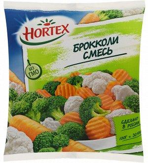 Смесь овощная с брокколи, Хортекс, 400 г, (16)