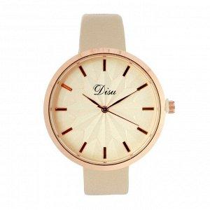 """Часы наручные женские """"Disu"""", ремешок из экокожи, микс 4407010"""
