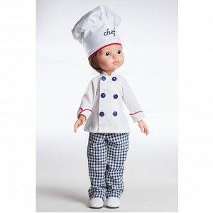 Кукла Карлос Повар 32см