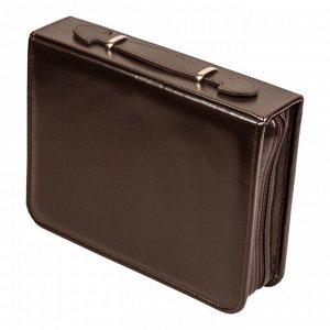 Несессер дорожный в сумке из натуральной кожи (1 персона)