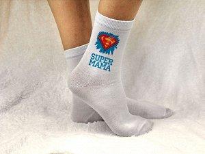 "Женские носки ""Супер Мама"""