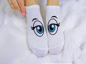 """Женские носки """"Голубые глазки"""""""