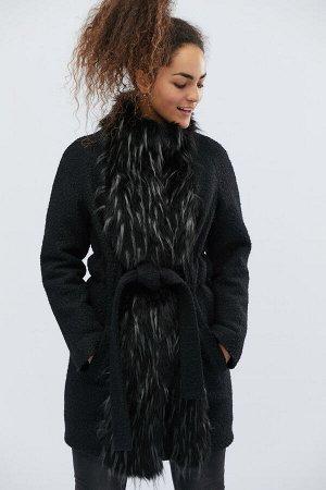 Зимнее пальто LS-8765-8 Черный