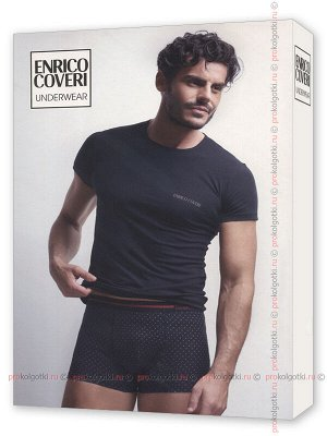 ENRICO COVERI, EC1665 uomo coord. boxer - t-shirt